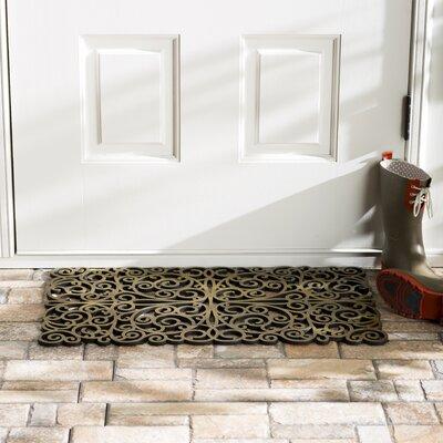 Wayfair Basics Scroll Doormat Color: Bronze