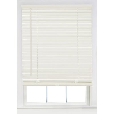 Semi-Sheer Venetian Blind Size:  35 W x 64 L, Color: Alabaster