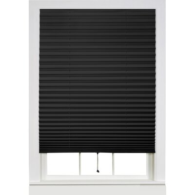 Wayfair Basics Room Darkening Pleated Vinyl Shade Size: 48 W x 75 L