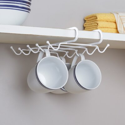 Wayfair Basics Under Shelf Mug Rack WFBS1530 31457740