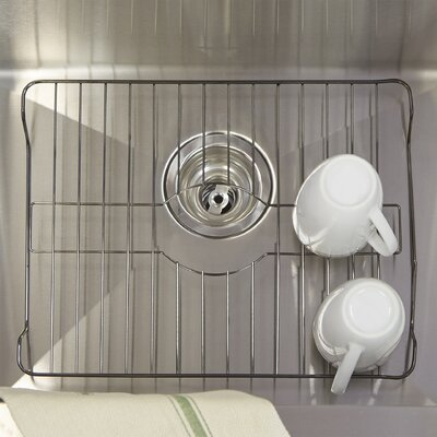 Wayfair Basics 16 x 12.6 Metal Protector Bottom Sink Grid