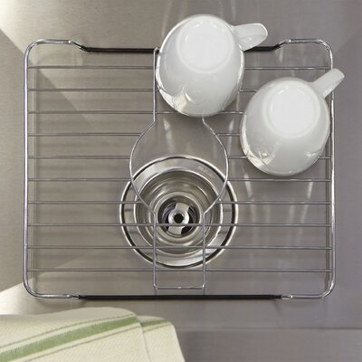 Wayfair Basics 12.25 x 10.05 Stainless Steel Protector Bottom Sink Grid