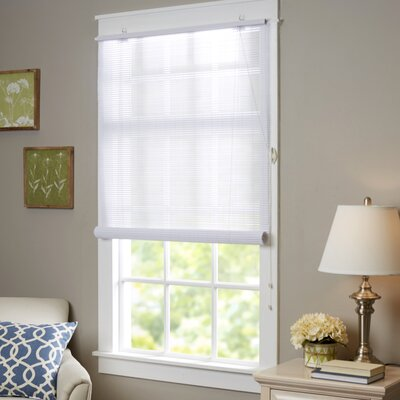 Wayfair Basics Semi-Sheer Roller Shade Size:  48 W x 72 L, Color: White