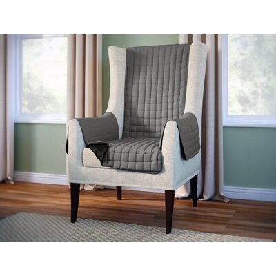 Wayfair Basics Armchair Slipcover Color: Gray
