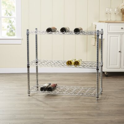 Wayfair Basics 72 Bottle Floor Wine Rack