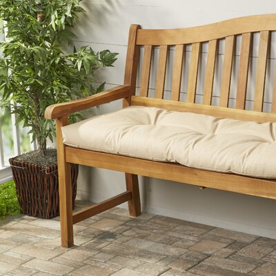 Wayfair Basics Outdoor Bench Cushion Fabric: Husk Birch