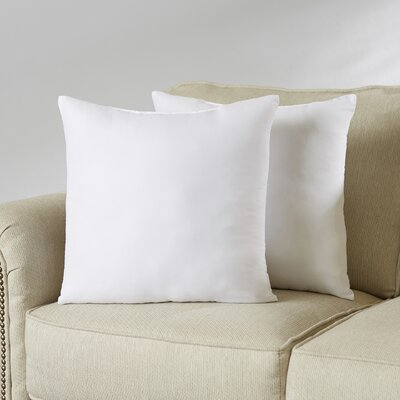 Wayfair Basics Pillow Insert Set Size: 18 H x 18 W x 4 D