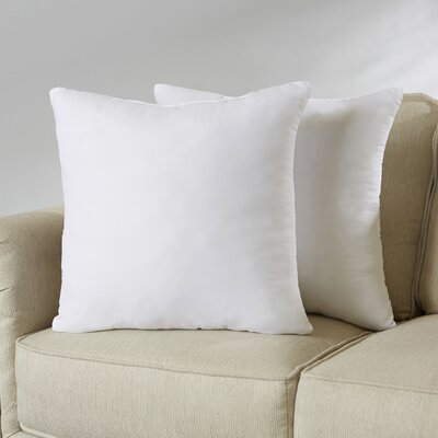 Wayfair Basics Pillow Insert Set Size: 20 H x 20 W x 4 D