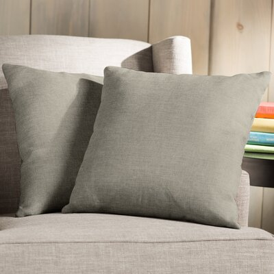 Wayfair Basics 18 Throw Pillow Color: Light Brown