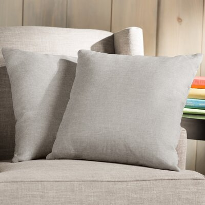 Wayfair Basics Throw Pillow Color: Mocha