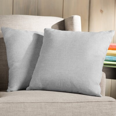 Wayfair Basics Throw Pillow Color: Light Gray