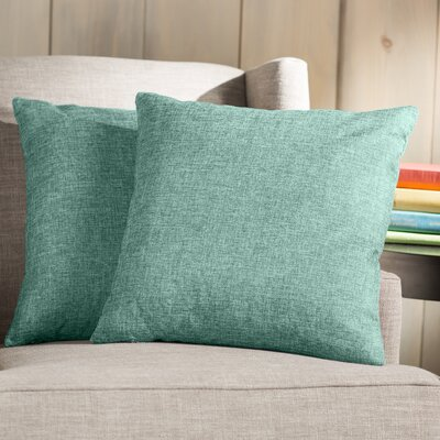 Wayfair Basics Throw Pillow Color: Light Green