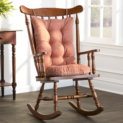 Wayfair Basics Rocking Chair Cushion Color: Clay