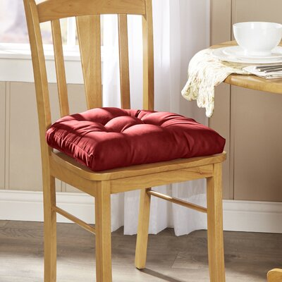 Wayfair Basics Chair Cushion Fabric: Flame