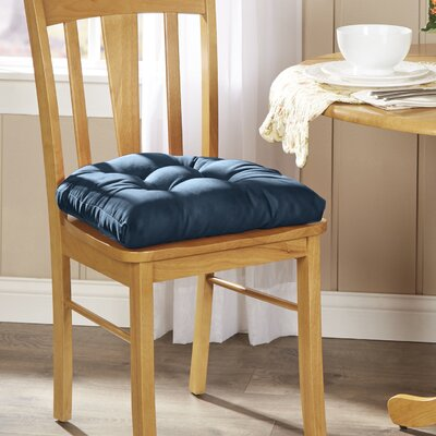 Wayfair Basics Chair Cushion Fabric: Indigo