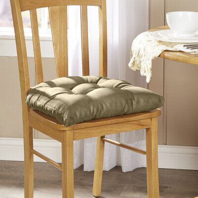 Wayfair Basics Chair Cushion Fabric: Sage