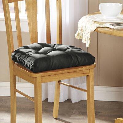 Wayfair Basics Chair Cushion Fabric: Midnight