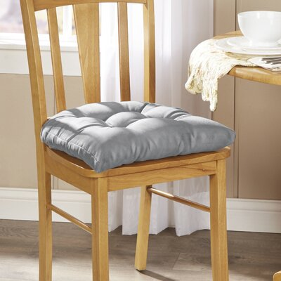 Wayfair Basics Chair Cushion Fabric: Gray