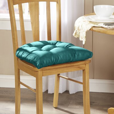 Wayfair Basics Chair Cushion Fabric: Aqua