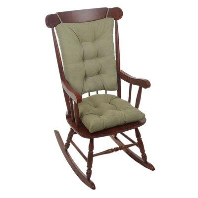 Wayfair Basics Rocking Chair Cushion Color: Thyme