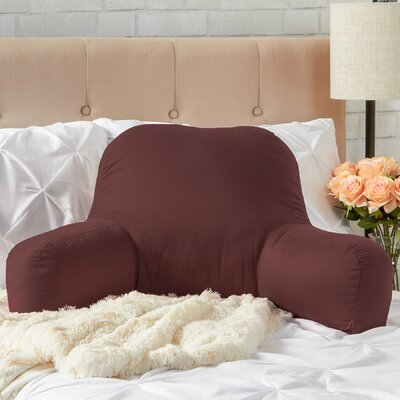 Wayfair Basics Bed Rest Pillow Color: Chocolate
