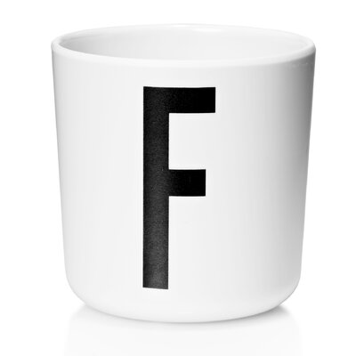 Design Letters Friends Melamine 6 oz. Letter Cup