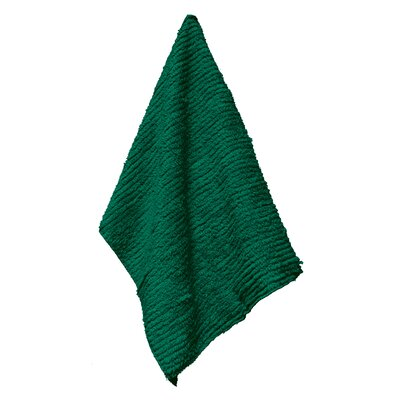 Solid Shaggie Towel Color: Green with Ivy