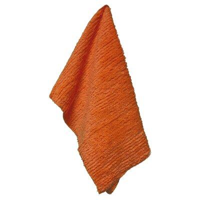 Solid Shaggie Towel Color: Orange Marmalade