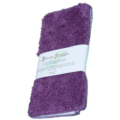 Shower Shaggie Wash Cloth Color: Giggly Grape