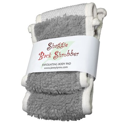 Shaggie Spa Shrubber Bath Towel Color: Goosie Grey