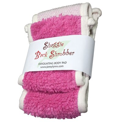 Shaggie Spa Shrubber Bath Towel Color: Yum Yum Bubble Gum