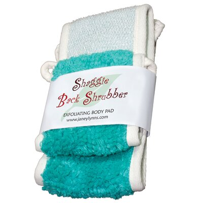 Shaggie Spa Shrubber Bath Towel Color: Tease Me Turquoise