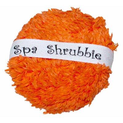 Shaggie Spa Shrubbie Color: Orange Marmalade