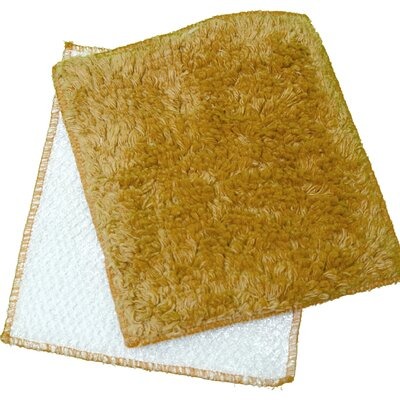 Shrubbies Wash Cloth Color: Mustard Mainia