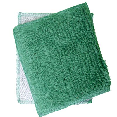 Shrubbies Wash Cloth Color: Jazzy Jade