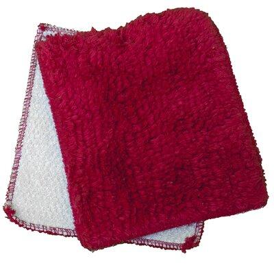 Shrubbies Wash Cloth Color: Cha Cha Chili