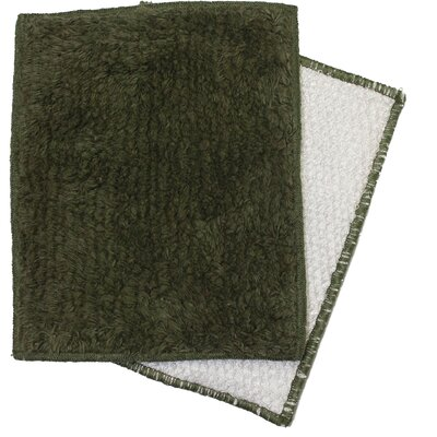 Shrubbies Wash Cloth Color: Green with Ivy