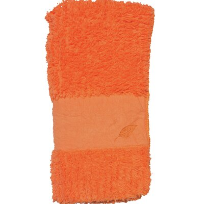 Hand Towel Color: Orange Marmalade