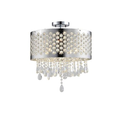Catalyn 4-Light Flush Mount