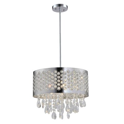 Catalyn 4-Light Drum Chandelier