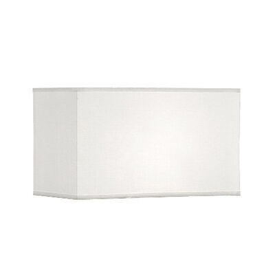 Geometric Premium 18.5 Linen Rectangular Lamp Shade