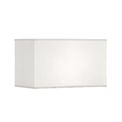Geometric Premium 18.5 Linen Rectangular Lamp Shade