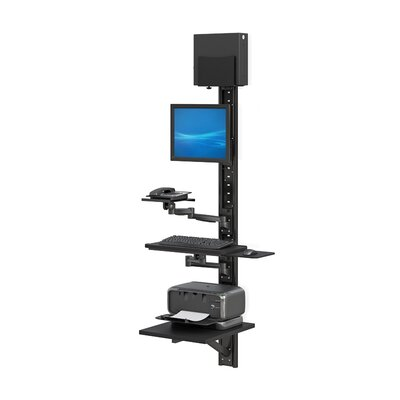 Computer Workstation Height Adjustable Universal Work Station/Cart