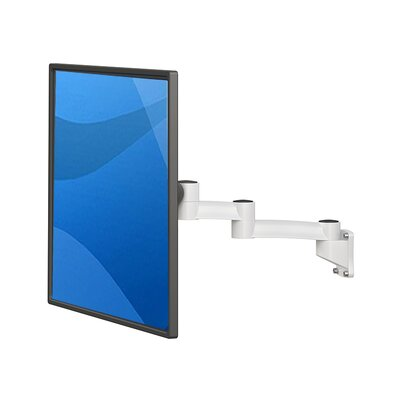 TV and Monitor Arm Height Adjustable Universal Wall Mount