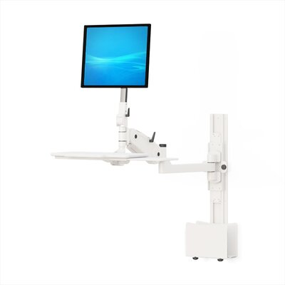 Fordable Workstation Universal Wall Mount