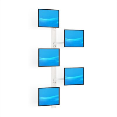 Multiple Universal 5 Screen Wall Mount