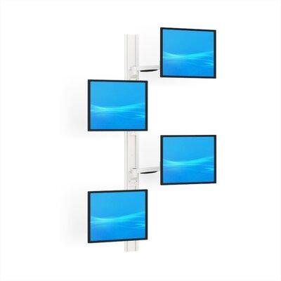 Universal 4 Screen Wall Mount