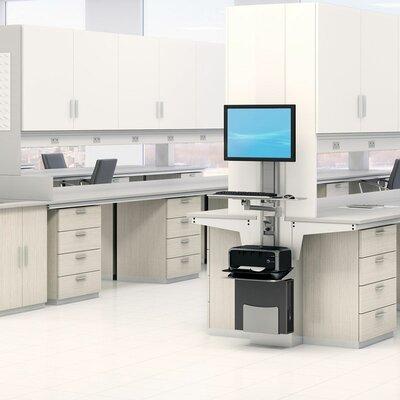 5.8 H x 25 W Desk Keyboard Platform