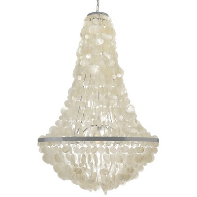 Manor Capiz Seashell 3-Light Empire Chandelier