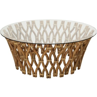 Hoop Rattan Coffee Table